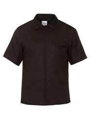 Fanmail Uniform Linen Shirt Black