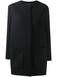 Gianluca Capannolo Collarless Mid Length Coat 60