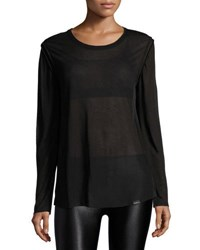 Koral Prime Long Sleeve Jersey Top Black