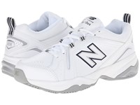 New Balance Wx608v4 White Blue Women's Walking Shoes