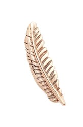 Kismet By Milka Gold Feather Stud Earring