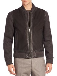 Strellson Vermont Leather Jacket Black