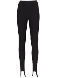 Ambush High Rise Logo Print Leggings Black