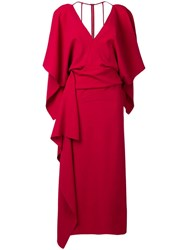 Roland Mouret Vincent Dress Red