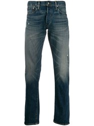 Ralph Lauren Low Rise Slim Fit Jeans Blue