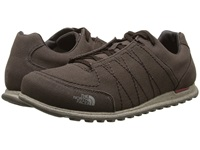 The North Face Hedgehog Mountain Sneaker Canvas Coffee Brown Rosewood Red Men's Shoes
