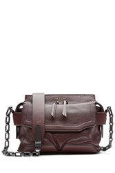 Rag And Bone Leather Shoulder Bag Red