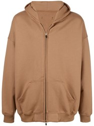 Fear Of God Everyday Zipped Hoodie Neutrals