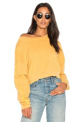 Stateside French Terry Sweatshirt Mustard