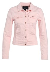 Only Onlwesta Denim Jacket Rose Quartz