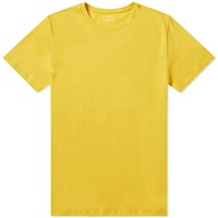 A.P.C. Washed Crew Tee Yellow