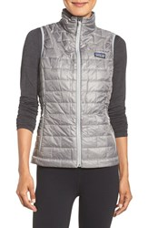 Patagonia Women's 'Nano Puff' Insulated Vest Feather Grey