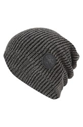Men's Converse 'Winter Slouch' Knit Cap Grey Converse Charcoal