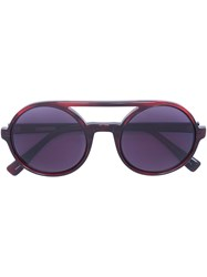 Derek Lam 'Morton' Sunglasses Red