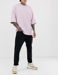 Weekday Bobbin Loose Fit Jeans With Copped Leg In Tuned Black