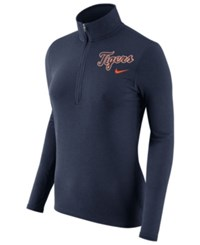Nike Women's Detroit Tigers Element Pullover Navy