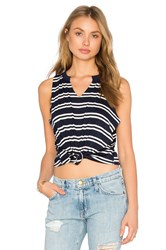 Project Social T Stephanie Tank Navy
