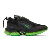 Misbhv Black Reebok Edition Daytona Dmx Sneakers