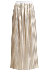 Deby Debo Chipie Pleated Skirt Or Gold