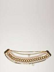 Dsquared Lvr Exclusive Brass Choker Gold