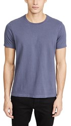 Madewell Garment Dyed All Day Crew Neck Tee Dark Baltic