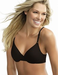 Warner's This Is Not A Bra Full Coverage Underwire Rich Black