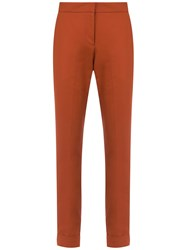 Andrea Marques Straight Trousers Brown