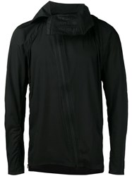 Y3 Sport Asymmetric Zip Sports Jacket Black