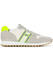 Hogan Non Slip Low Top Trainers White