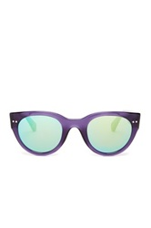 Bcbgmaxazria Women's Flash Wayfarer Plastic Sunglasses Purple