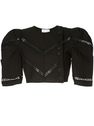 Alice Mccall A Foreign Affair Crop Top Black