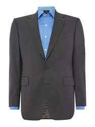Chester Barrie Men's Jacket For Plain Contemporary Suit Grey