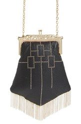 Whiting And Davis 'Heritage Chandelier' Mesh Crossbody Bag