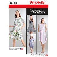 Simplicity 'S Dress Sewing Pattern 8048