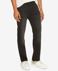 Kenneth Cole Reaction Men's Straight Fit Black Wash Jeans