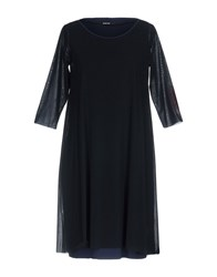 Almeria Short Dresses Dark Blue