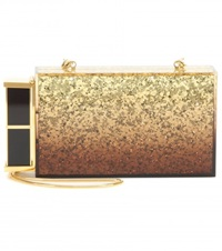 Tom Ford Lipstick Box Clutch Gold