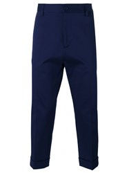 Love Moschino Tailored Trousers Blue