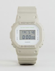 G Shock Dw 5600M 8Er Digital Silicone Watch In Stone Beige