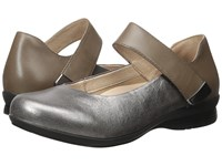 Dansko Audrey Old Gold Metallic Women's Flat Shoes