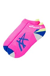 Asics Mix Up Your Run Low Cut Socks Pink