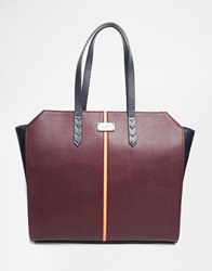 Pauls Boutique Paul's Boutique Ally Tote Burgundy