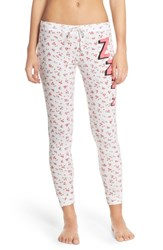 Women's Junk Food 'Zzzz' Graphic Thermal Pants