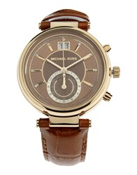 Michael Kors Timepieces Wrist Watches Women Brown