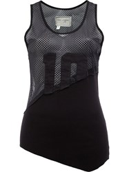 Greg Lauren Mesh Tank Black