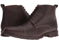 Hush Puppies Waterproof Gage Parkview Ice Dark Brown Waterproof Leather Men's Shoes