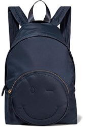 Anya Hindmarch Chubby Shell Backpack Navy
