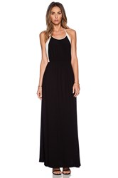 Autograph Addison Llyod Halter Maxi Dress Black