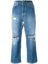 Dondup Cropped Jeans Blue