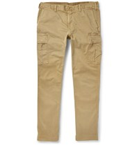 Polo Ralph Lauren Slim Fit Stretch Cotton Cargo Trousers Neutrals
